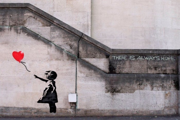 Banksy — There is Always Hope